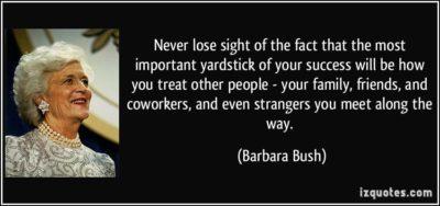 R.I.P. Barbara Bush